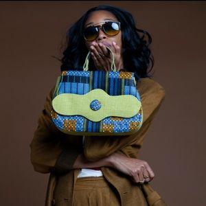 Handbags - Fabric Handmade Bag from The Gambia, Africa